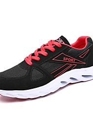 cheap -Men's Shoes Tulle Spring / Fall Comfort Athletic Shoes Running Shoes Black / White / Black / Red / Black / Blue