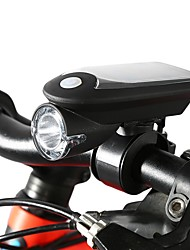 cheap -Bike Lights LED Cycling Solar Power With USB Charger Outlet USB 1100 Lumens USB White Cycling/Bike
