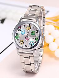 Недорогие -Жен. Наручные часы Китайский Повседневные часы сплав Группа На каждый день / Мода / Элегантный стиль Серебристый металл / Золотистый / Розовое золото