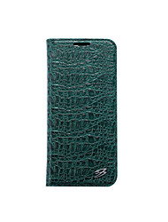 cheap -Case For Samsung Galaxy S8 Plus S8 Card Holder Wallet with Stand Full Body Solid Color Hard Genuine Leather for S8 Plus S8