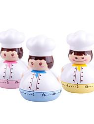abordables -Outils de cuisine Plastique Creative Kitchen Gadget / Adorable Pour les poissons Minuteries de Cuisine 1pc
