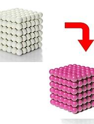 abordables -512 pcs Jouets Aimantés Boules Magnétiques / Blocs de Construction / Puzzle Cube Magnétique Brillant / Changement de couleur Sports Adulte Cadeau