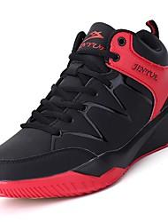abordables -Homme Chaussures Gomme Printemps / Automne Confort Chaussures d'Athlétisme Basketball Bottine / Demi Botte Noir / blanc / Noir / Rouge /