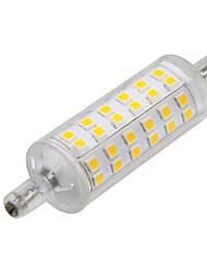 Недорогие -1шт 6W 500-600lm R7S LED лампы типа Корн 72 светодиоды SMD 2835 Светодиодные фонарики Декоративная Тёплый белый 2800-3200K AC 220-240V