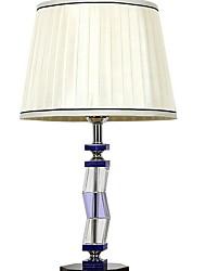 abordables -Métallique Artistique Cristal Lampe de Table Pour Cristal 220-240V Kaki