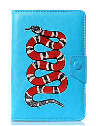 caja universal de la cubierta del soporte de cuero de la serpiente para 7 pulgadas 8 pulgadas 9 pulgadas 10 pulgadas tablet pc