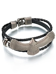 cheap -Men's Link Bracelet , Animals Asian Vintage Leather Alloy Parrot Jewelry For Carnival Street