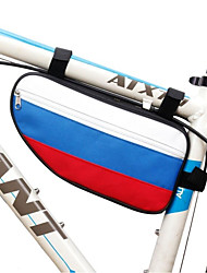 economico -Fonoun 25 L Marsupio triangolare da telaio bici / Borsa Top Tube Ompermeabile, Asciugatura rapida, Indossabile Borsa da bici Taffetà in poliestere Marsupio da bici Borsa da bici Ciclismo / Bicicletta