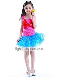 cheap -The Little Mermaid Dress Children's Halloween Festival / Holiday Halloween Costumes Blue Pink Mermaid Halloween