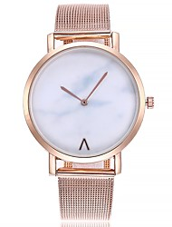 cheap -Women's Fashion Watch Wrist watch Chinese Quartz Large Dial Alloy Band Casual Minimalist Silver Gold Rose Gold