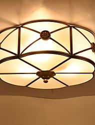 baratos -Tradicional/Clássico Moderno/Contemporâneo Estilo Mini Montagem do Fluxo Luz Ambiente Para Sala de Estar Sala de Jantar 110-120V 220-240V