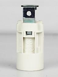billige -1pc E14 Bulb tilbehør Pære Forbinder / Lamp Base Metallisk / Plast 70 W