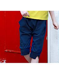 economico -Pantaloncini Da ragazza Poliestere Tinta unita Estate Romantico Attivo Royal Blue