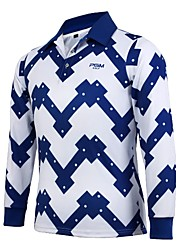 cheap -Men's Long Sleeves Golf T-shirt Sweatshirt Top Breathability Golf