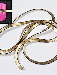 abordables -1 Métallique Mode Punk Bijoux à ongles Haute qualité Nail Art Design Quotidien