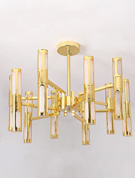 abordables -QIHengZhaoMing Lampe suspendue Lumière d'ambiance - Protection des Yeux, 110-120V / 220-240V, Blanc Crème, Ampoule incluse / G4 / 15-20㎡