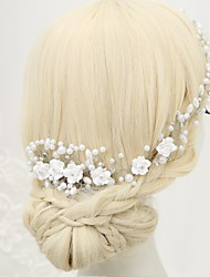 cheap -Imitation Pearl Rhinestone Alloy Hair Combs 1pc Wedding Special Occasion Headpiece