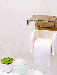 cheap -Modern Toilet Paper Holders plastic Non Skid Solid Semi-opaque