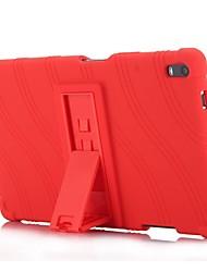 preiswerte -Wellenmuster Muster Silikonkautschuk Gel Haut Fall Abdeckung mit Halter für Lenovo Tab 4 8 plus (8704) 8.0 Zoll Tablet PC
