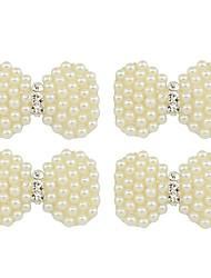 Недорогие -бабочка с золотом бриллиантовая пряжка ювелирные аксессуары аксессуары из сплава rhinestone 4шт
