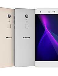 "baratos -SHARP Z2 Global Version 5.5 polegada "" Celular 4G ( 4GB + 32GB 16 mp MediaTek MT6797 3000 mAh mAh ) / 1920*1080"