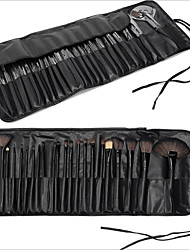 cheap -24pcs Makeup Brushes Professional Makeup Brush Set / Blush Brush / Eyeshadow Brush Nylon / Synthetic Hair / Horse Eco-friendly / / Wood