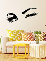 Недорогие -Мода Геометрия Наклейки Простые наклейки Декоративные наклейки на стены, Винил Украшение дома Наклейка на стену Стена Окно