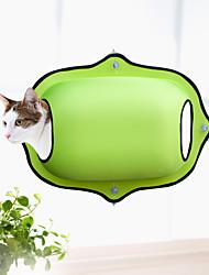 Недорогие -Кошка Кровати Животные Коврики и подушки Однотонный Мягкий Простота установки Путешествия На каждый день Черный Кофейный Зеленый Камуфляж