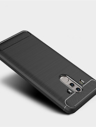 cheap -Case For Huawei Mate 10 pro Mate 10 lite Frosted Back Cover Solid Color Soft TPU for Mate 10 Mate 10 pro Mate 10 lite Mate 9