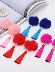 Недорогие -Зажим Аксессуары для волос парики Аксессуары штук см Повседневные Классика Высокое качество