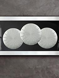 economico -Astratto Decorazioni da parete,Legno Materiale con cornice For Decorazioni per la casa Cornice Interno Sala da pranzo