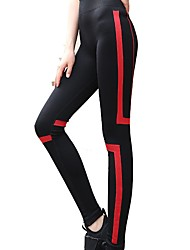 abordables -Mujer Pantalones de Running - Blanco, Rojo, Azul Deportes Licra Pantalones / Sobrepantalón Ropa de Deporte Transpirabilidad
