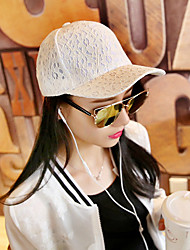 cheap -Women's Work Casual Cotton Lace Sun Hat Baseball Cap - Solid, Stylish