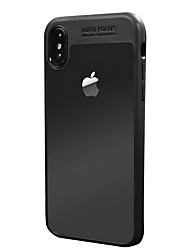 Θήκη Za Apple iPhone X Otporno na trešnju Prozirno Kućište Jedna barva Tvrdo PC za iPhone X