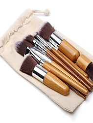 cheap -11pcs Makeup Brushes Professional Makeup Brush Set / Blush Brush / Eyeshadow Brush Nylon Eco-friendly / Soft / Full Coverage Bamboo /