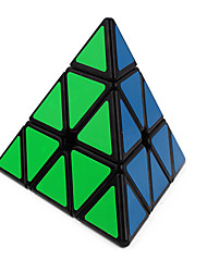 cheap -Rubik's Cube Pyramid Smooth Speed Cube Magic Cube Puzzle Cube Smooth Sticker ABS Triangle Gift