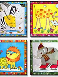 economico -Cartoni animati Illustrazioni Decorazioni da parete,Plastica Materiale con cornice For Decorazioni per la casa Cornice Salotto Stanza per