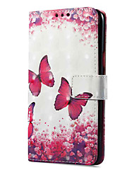 cheap -Case For OPPO Oppo R11 Oppo A57 Card Holder Wallet with Stand Flip Magnetic Pattern Full Body Cases Butterfly Hard PU Leather for OPPO