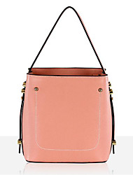 cheap -Women Bags Cowhide Nylon Tote Zipper for Casual All Season Light Grey Blushing Pink Red