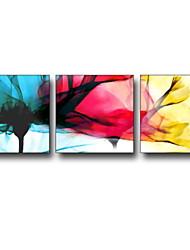 baratos -Desenho Animado Fantasia Ilustração Arte de Parede,Plástico Material com frame For Decoração para casa Arte Emoldurada Sala de Estar