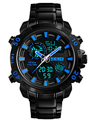 cheap -SKMEI Men's Wrist watch Dress Watch Fashion Watch Japanese Digital Alarm Calendar / date / day Chronograph Water Resistant / Water Proof