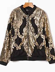 cheap -Women's Jacket - Sequin, Sequins Stand