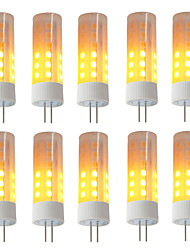 cheap -BRELONG® 10pcs 3W 230lm G4 LED Corn Lights 36 LED Beads SMD 2835 Flame Effect Warm White 12V