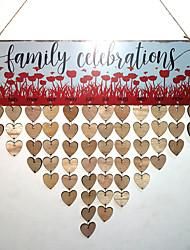 Недорогие -Особые случаи / Новый год деревянный Свадебные украшения Семья / Свадьба Все сезоны