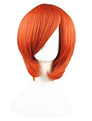cheap -14inch Short Orange Angel BeAts Otonashi Yuzuru Synthetic Anime Cosplay Wig CS-002C