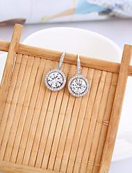 cheap -Women's Stud Earrings / Hoop Earrings - Silver Plated Silver For Wedding / Party