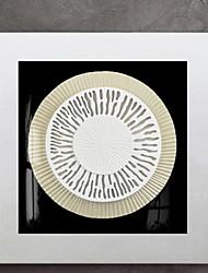 economico -Astratto Decorazioni da parete,Legno Materiale con cornice For Decorazioni per la casa Cornice Interno