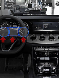 abordables -Protector de pantalla automotriz del reproductor de DVD diy car interiors para mercedes-benz 2016 2017 e clase de plástico
