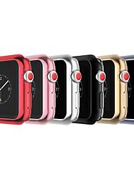 Недорогие -яблоко часы силиконовый бампер чехол защитная крышка для яблока смотреть 3 серии 1 2 38 мм 42 мм