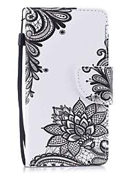 preiswerte -Hülle Für Samsung Galaxy S8 Plus S8 Kreditkartenfächer Geldbeutel mit Halterung Flipbare Hülle Magnetisch Muster Ganzkörper-Gehäuse Blume